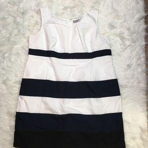 eShakti plus size 4X striped dress